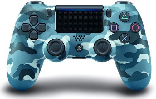 Control Ps4 Playstation 4 Original New Color Azul Camuflado