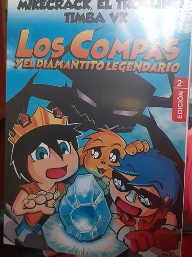 Libro Los Compás Y El Diamantito Legendario Nuevo