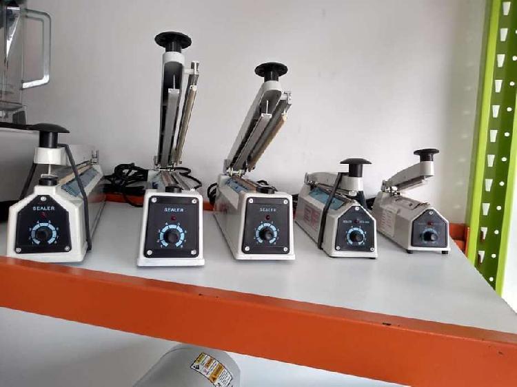 Selladora de bolsas plásticas manual 10 cm -20-30-40-50
