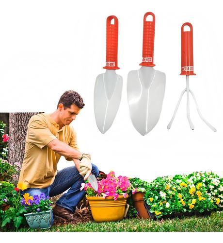 Set Herramientas Jardinaria Hogar