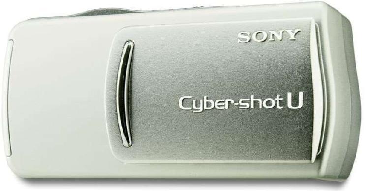 Sony dsc-u20 cyber-shot 2 mp cámara digital (plata) usada