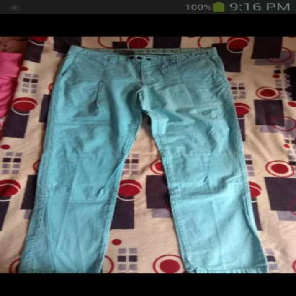 Vendo pantalón drill talla 34