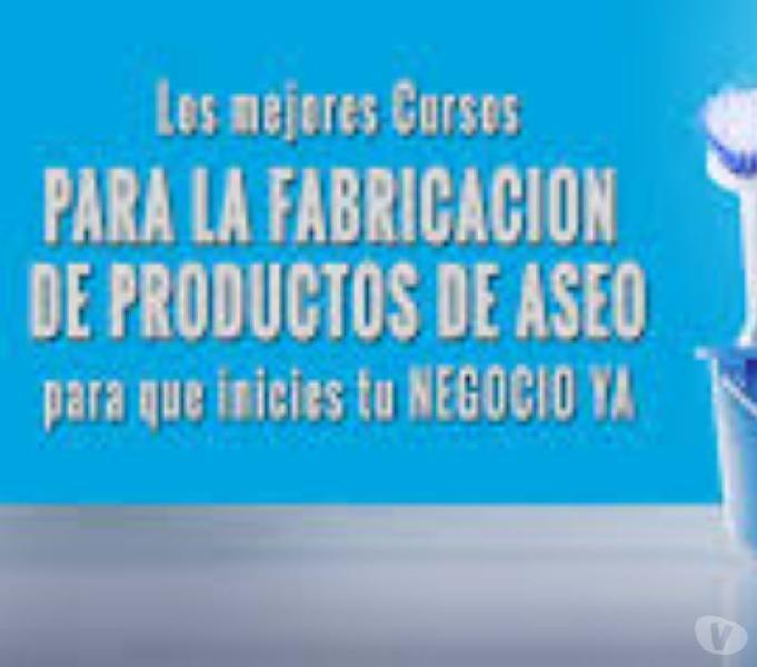 APRENDE A ELABORAR PRODUCTOS DE ASEO.