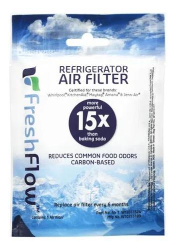Filtro de aire para neveras whirpool fresh flow w10311524