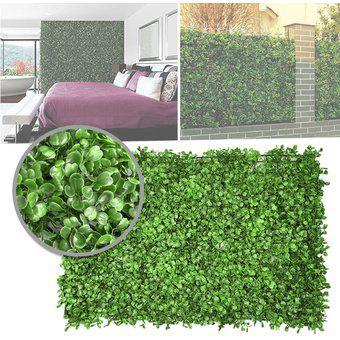 Jardín Vertical Artificial Panel 40x60 Muro Follaje