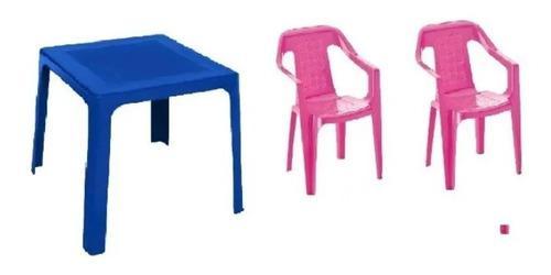 Mesa más sillas infantil rimax.
