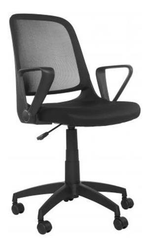 Silla oficina escritorio secretarial ergonomica malla grecia