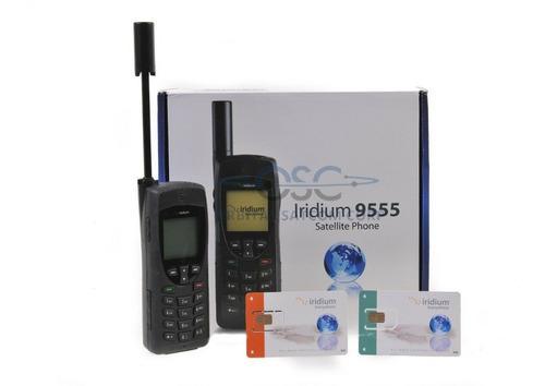 Telefono satelital iriduim 9555 100% nuevo chip recargable