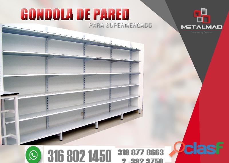 GONDOLAS PARA SUPERMERCADO 1