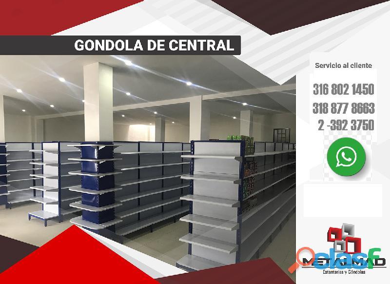 GONDOLAS PARA SUPERMERCADO 3