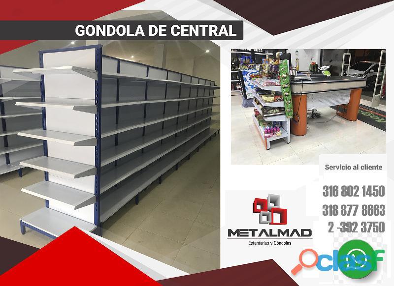 GONDOLAS PARA SUPERMERCADO 4
