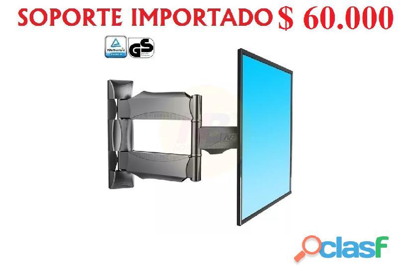 ECONOMICOS SOPORTES TV TELEVISOR GIRATORIO 4