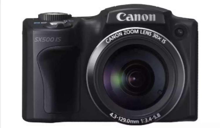 Cámara canon powershot sx 500 is (precio negociable)