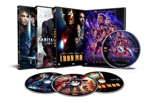 Colección películas marvel avengers español latino