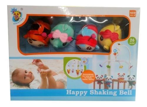 Movil musical para cuna bebes funciona con pilas
