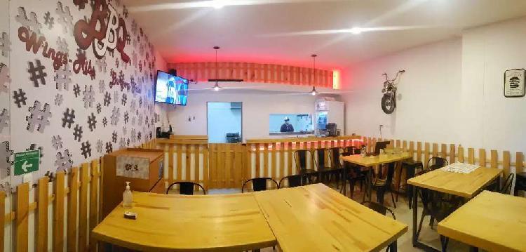 Oferton! se vende negocio de comida rapida en chia.