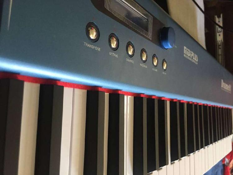 Piano controlador dreamer61 teclas semipesadas con sonidos
