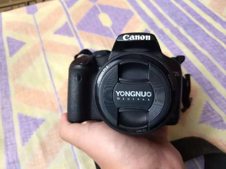 Canon eos 500d + lente 50mm + lente 18 - 55