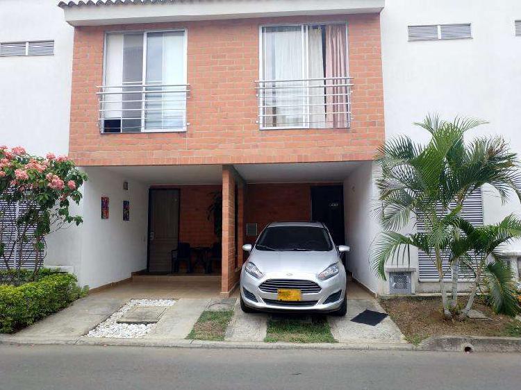 Casa condominio en venta en jamundi alfaguara codvbeha932