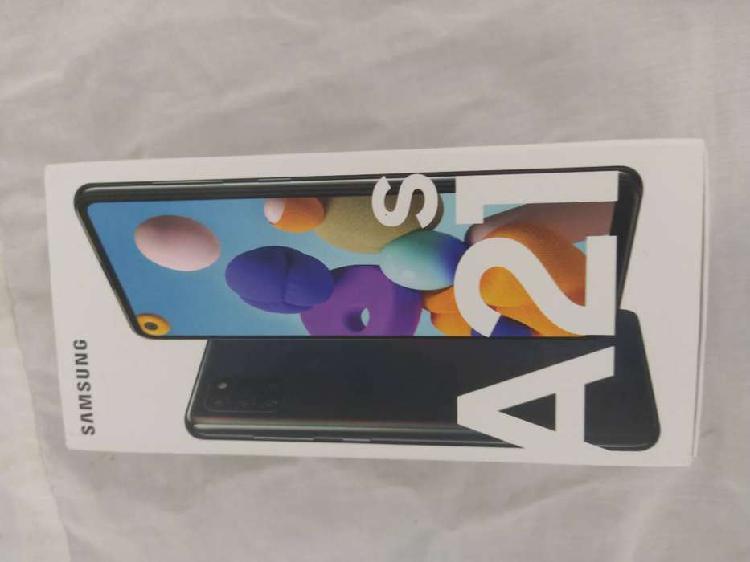 Samsung galaxy a21s nuevo 4 gb/ 64gb