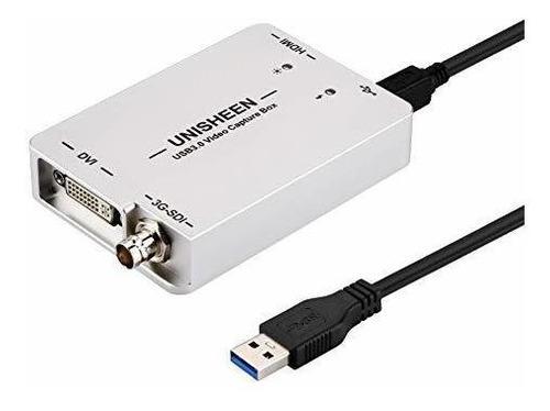 Unisheen usb 3.0 captura la tarjeta del adaptador de video h