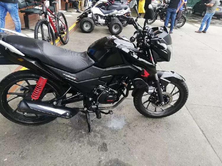 Vendo moto cb 125f en perfecto estado
