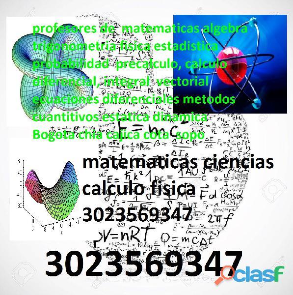 profesores de estatica on line bogota chia cota cajica 3043859212