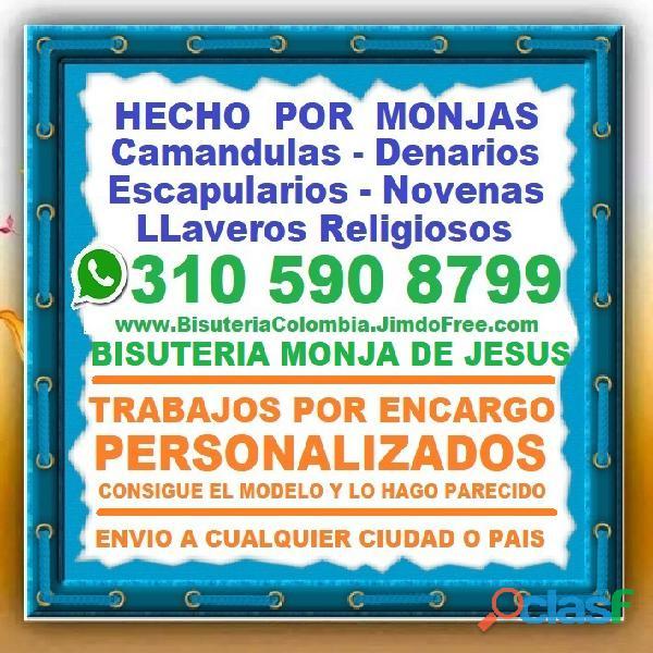 ⭐ Camandulas, Rosarios, Denarios, Escapularios, Japa Mala Budista, Pulseras, Collares, Manillas, Cal
