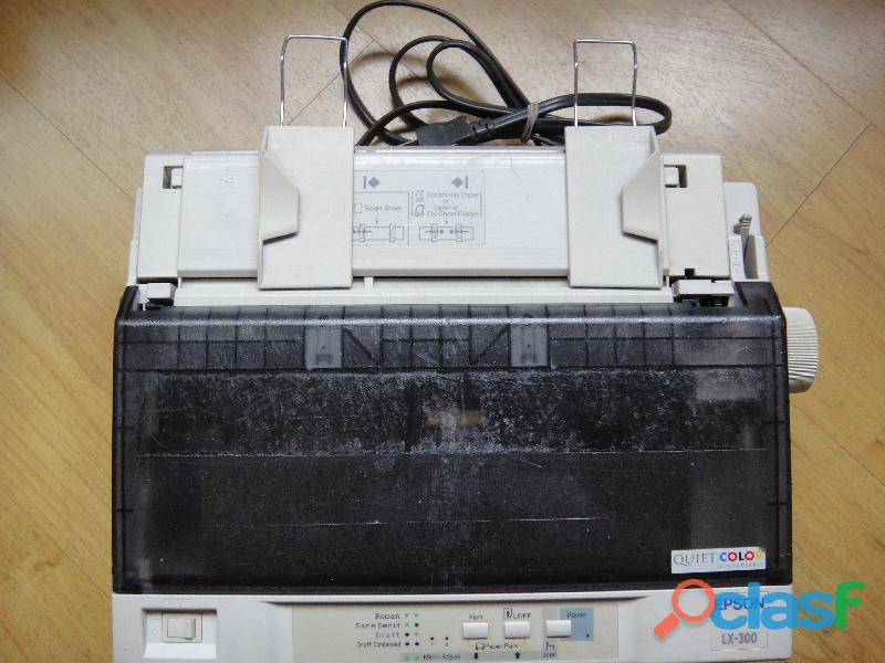 Impresoras de punto lx 300 totalmente funcionales