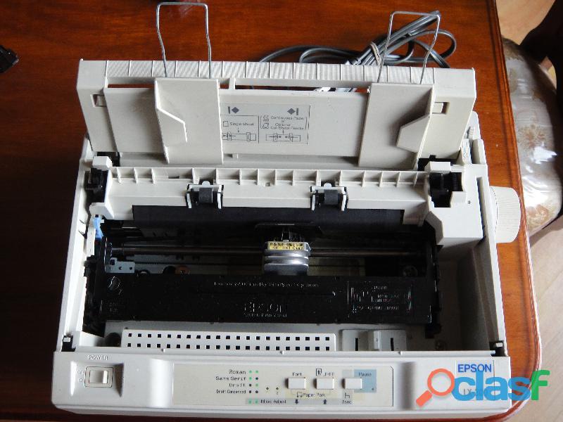 Impresoras de punto lx 300 totalmente funcionales 4