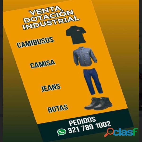Venta Dotación Industrial