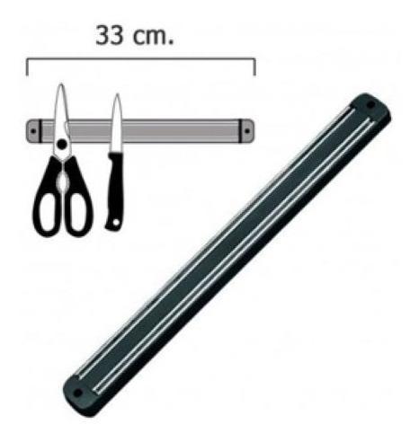 Imán 33cm riel magnético cuchillos cocina hogar