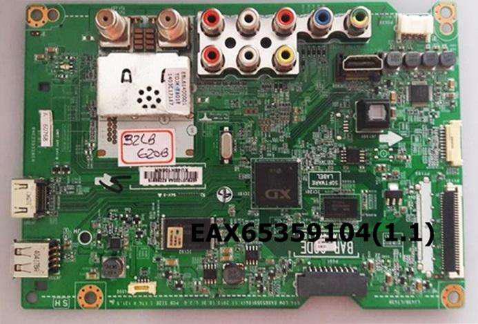 Main board, fuente y tcom para tv lg modelo 32lb620b