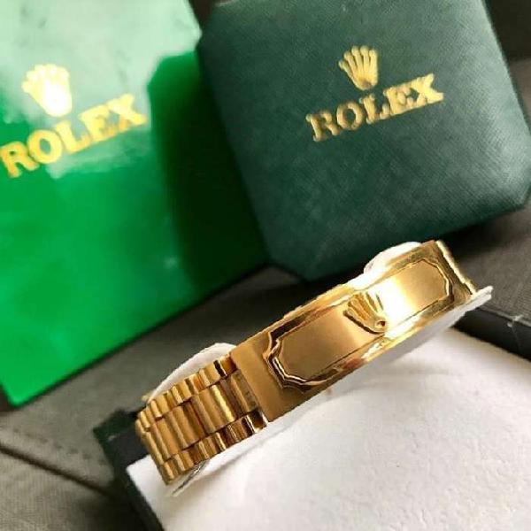 Pulseras rolex color oro envio gratis