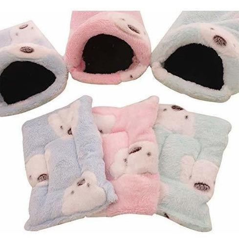 Qees cama de cobaya, hamster cama, pequeños animales calien