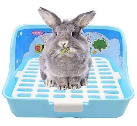Rubyhome rabbit cage litter box easy to clean potty trainer