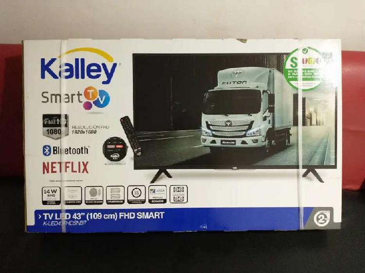 Televisor smart tv kalley de 43 pulgadas