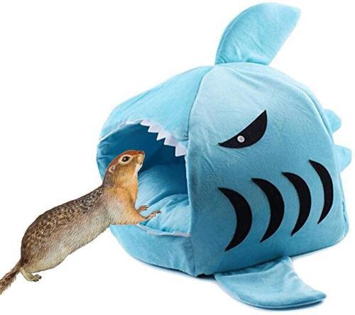 Yu-xianag - hámster de tiburón, nido, cobaya, casa de