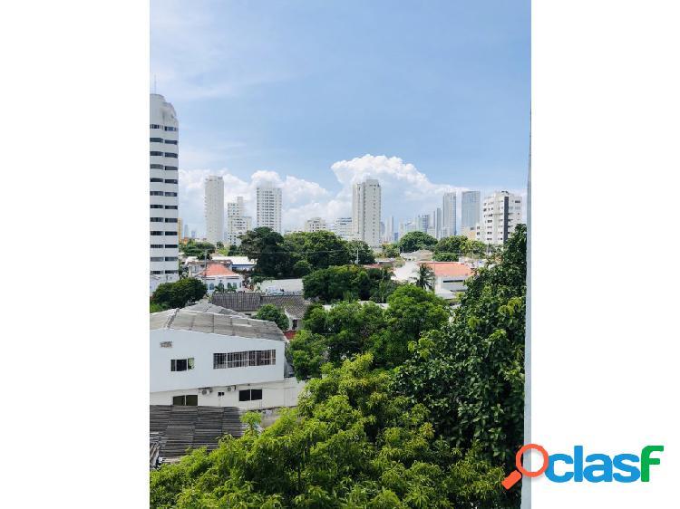 Cartagena, manga. remodelado apartamento + parqueadero, 5 pisos