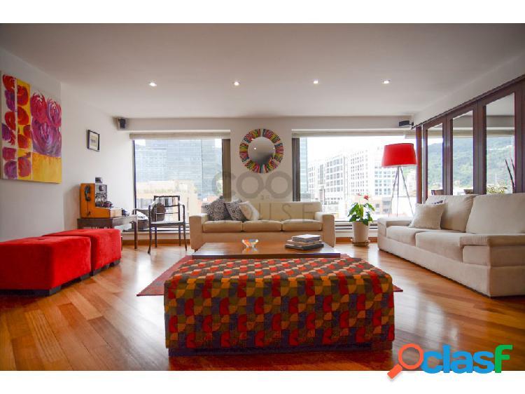 Apartamento con terraza en venta rentando en santa bárbara