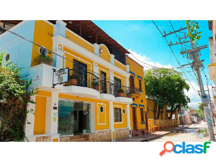 Hotel para venta en el centro histórico de santa marta