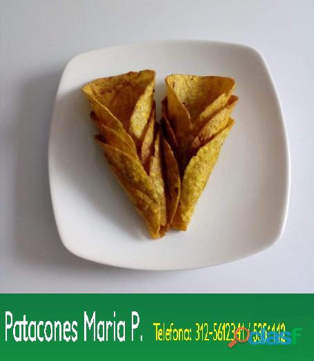 Patacones MARIA PAULA Bogota