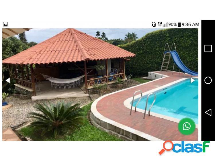 Casa campestre cerritos, hermosísima. 7 habitaciones, piscina semiolog
