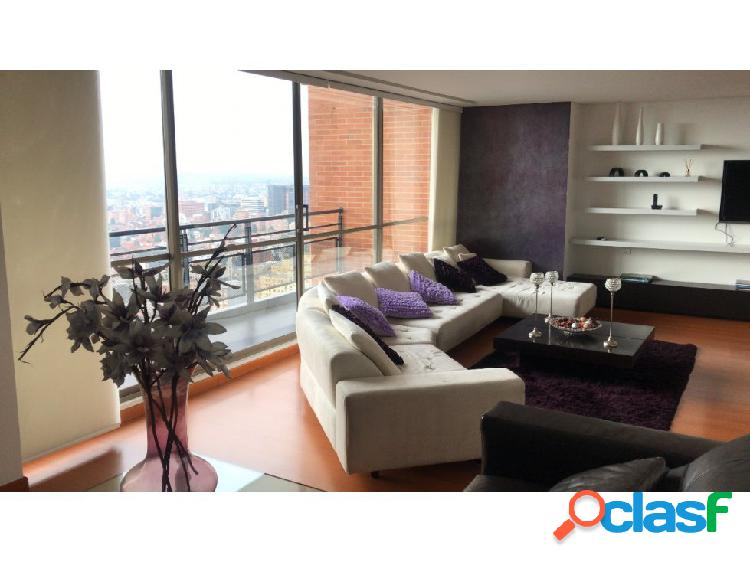 Apartamento amoblado chapinero alto