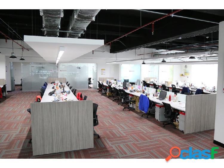Arrendamiento de oficinas 1.000 m2 clase a
