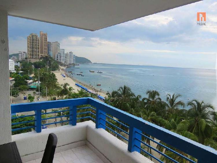 Apartamento en el rodadero, vista al mar, santa marta