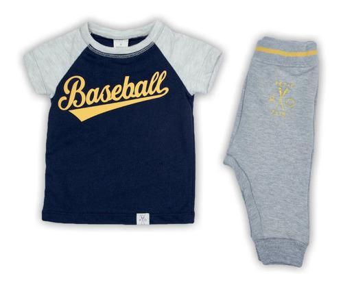 Conjunto niño bebé jogger rayas ropa