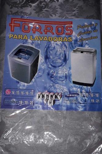 Forro para lavadora de 15 a 20 libras