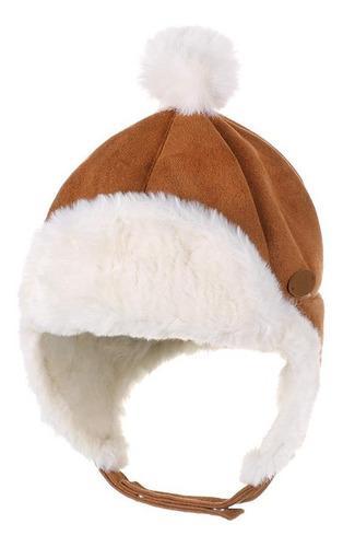 Gorro bebes bebe niño algodon protege orejas frio abrigo