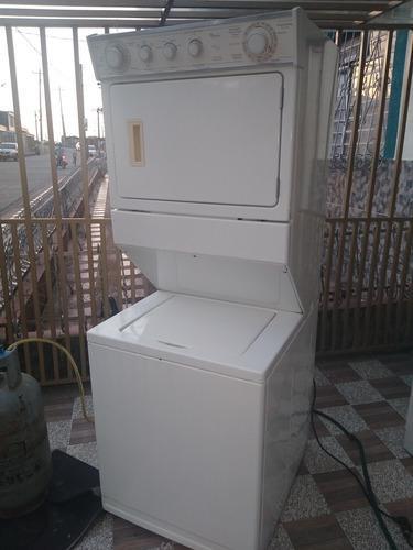 Lavadora secadora whirlpool torre 22 libras